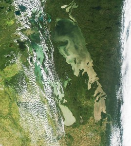 Lake Winnipeg Satellite Photo – August 2015